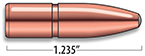 A-Frame Rifle Bullets Cal. 8MM | 200 gr