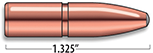 A-Frame Rifle Bullets Cal. 8MM | 220 gr