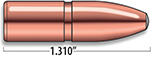 A-Frame Heavy Rifle Bullets Cal. 9.3MM | 300 gr