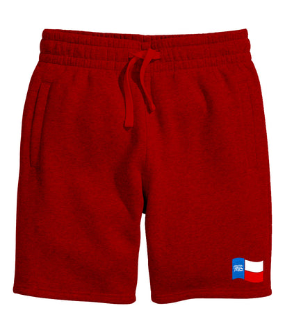 Forever Trill Sweat Shorts (Red)