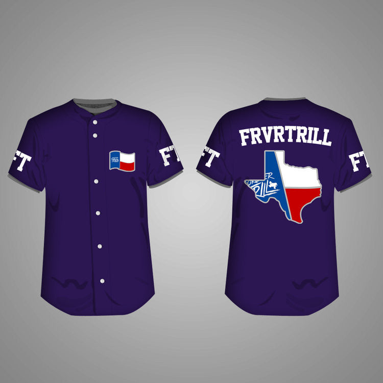 """CITY OF SYRUP"" EDITION FOREVER TRILL BASEBALL JERSEY"