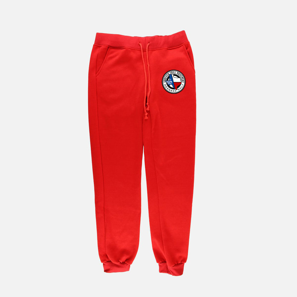 "Forever Trill ""Fire"" Joggers - Red"