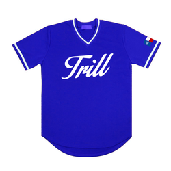 Forever Trill Blue Baseball Jersey