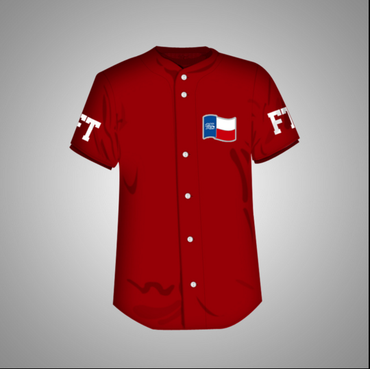 Forever Trill Baseball Jersey (Red)