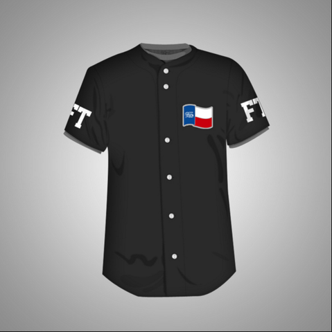 Forever Trill Baseball Jersey (Blk)