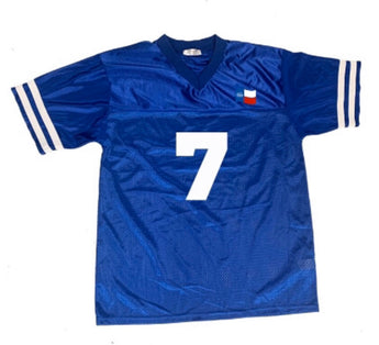 Forever Trill Blue Football Jersey