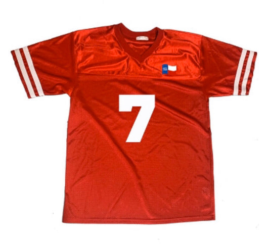 Forever Trill Red Football Jersey