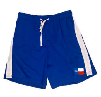 Forever Trill Blue Hoop Shorts