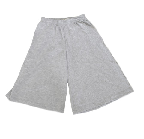 Pants Flare culottes girls toddler baby leggings handmade Grey flowy boho summer jersey Clothing