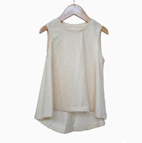 Swing Tank in Oatmeal - OLIVE + LOU