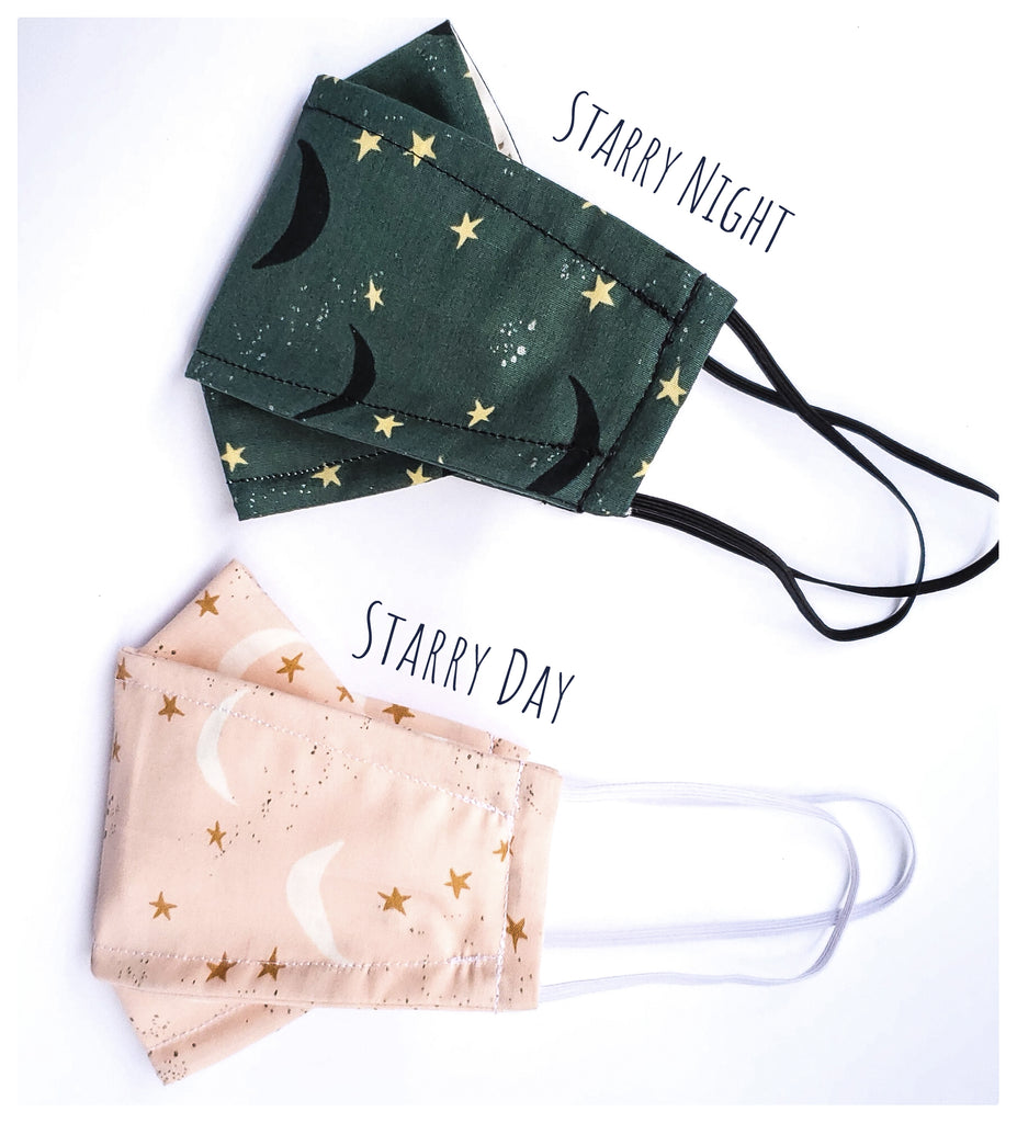 Origami Mask in Starry Day & Night