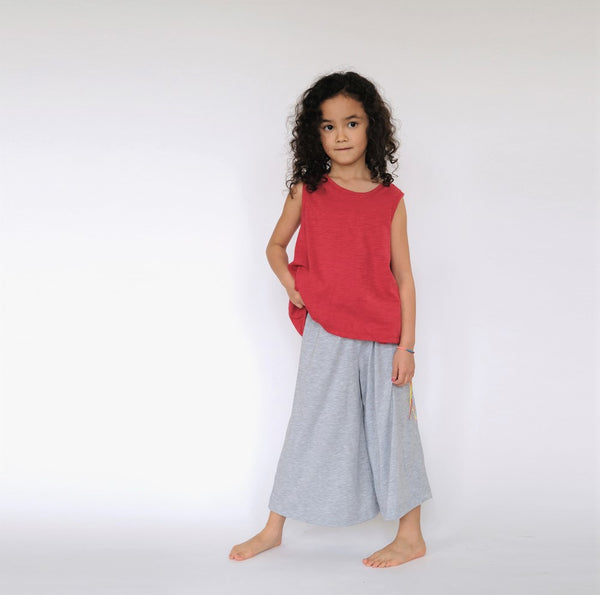 Flare Pants in Grey