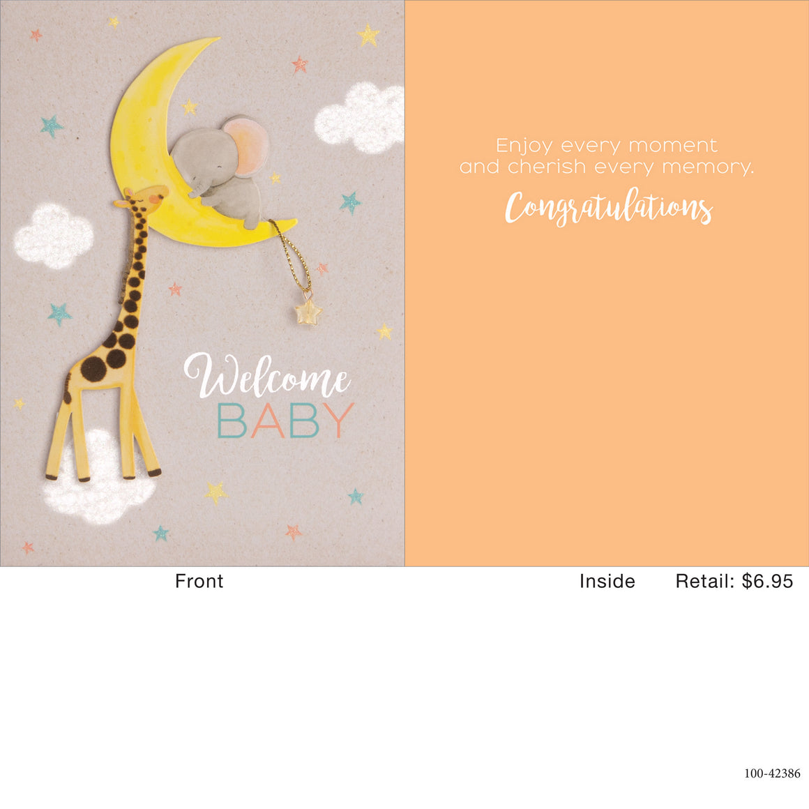 Card | Newborn | Big Dreams Moon