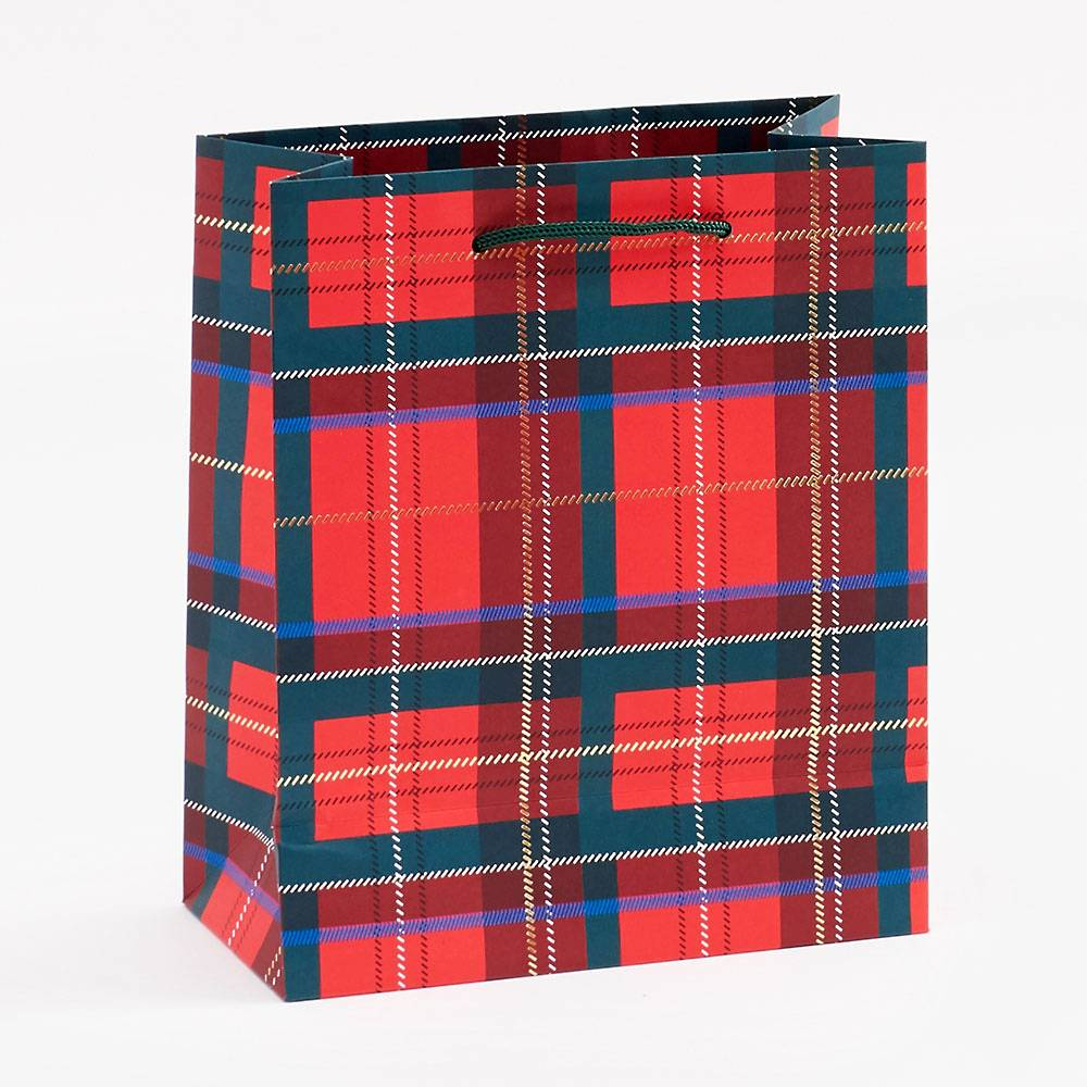 Gift Bag | Medium | Tartan Plaid Gift