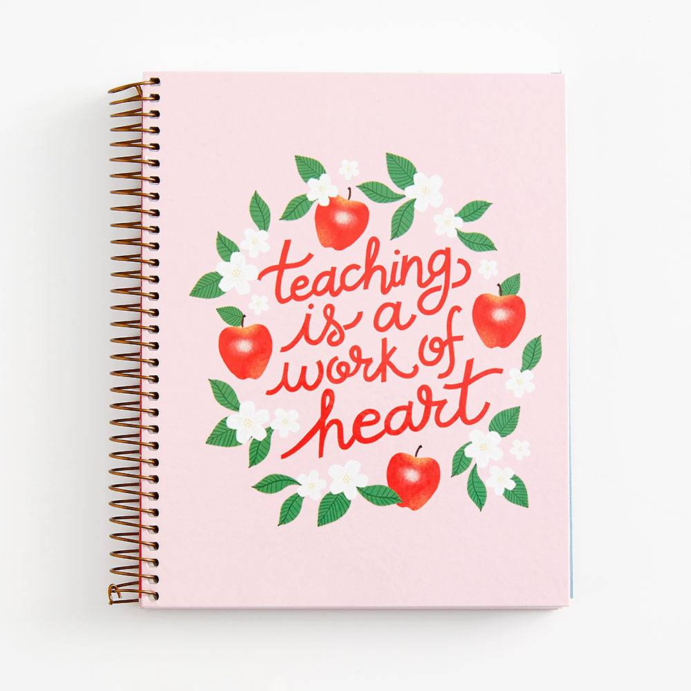 Notebook | Spiral | Teacher Work of Heart