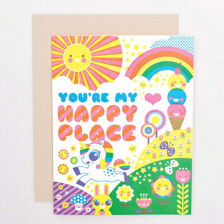 Card | Love | You're My Happy Place