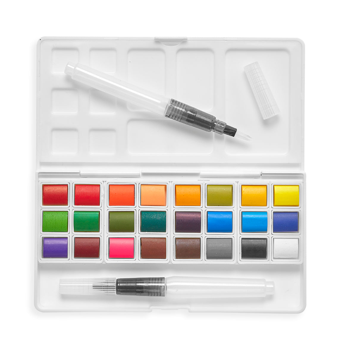 Watercolor Palette | Chroma Blends Travel | 27 Piece Set