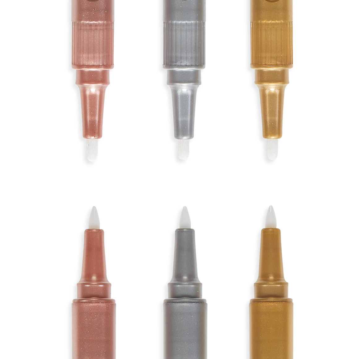 Modern Trio Dual Tip Metallic Markers | Set of 3