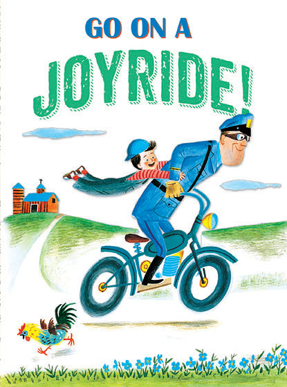 Card | Birthday | Boy & Bicycle Policeman