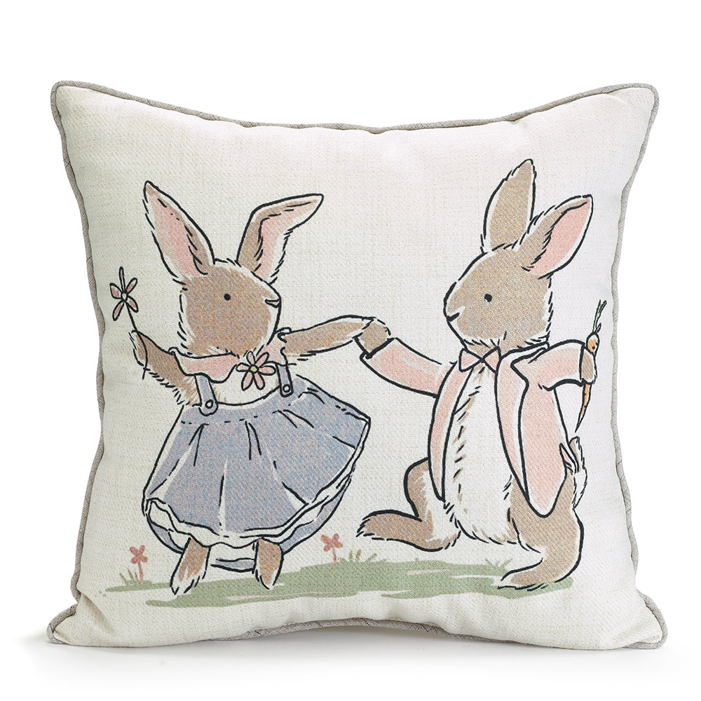 Pillow | Bunny Couple Printed