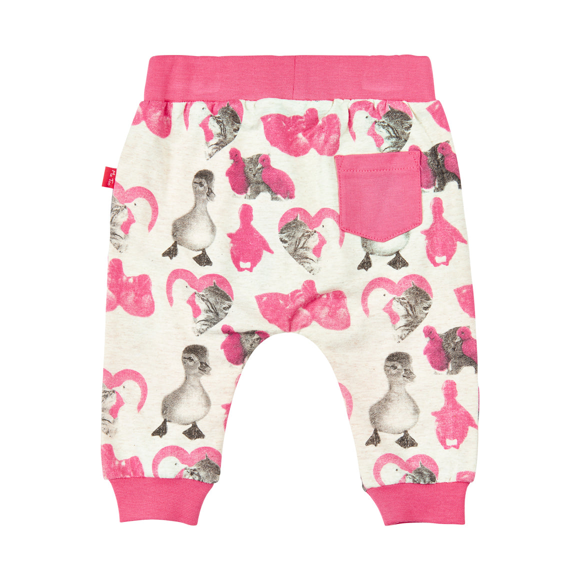 Kitty Duck Love Pants | Camellia Rose