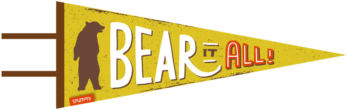 Large Pennant | Bear It All