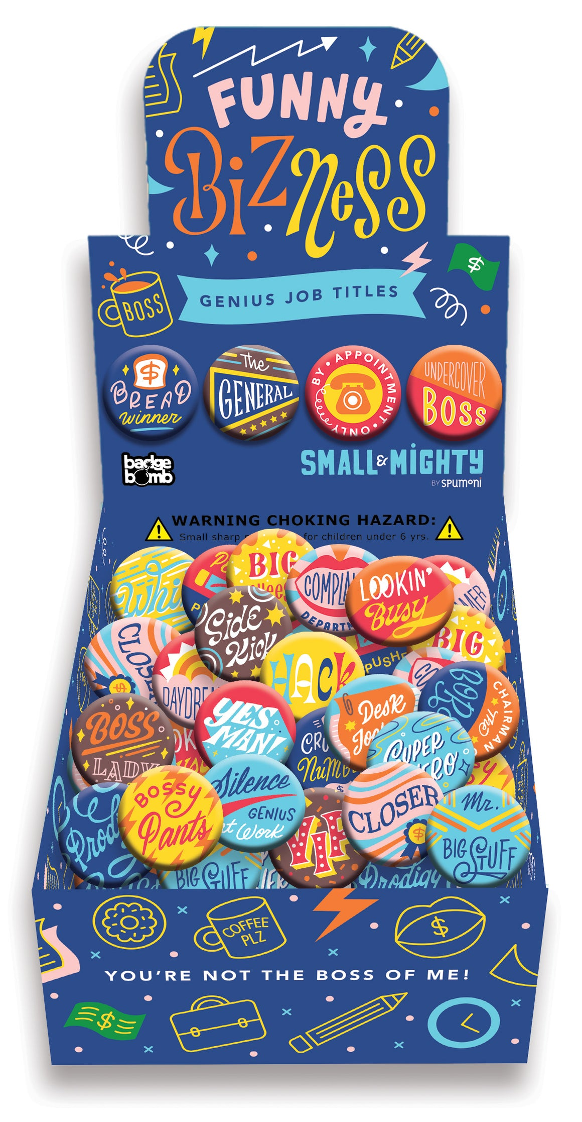 Buttons | Funny BiZness Job Titles