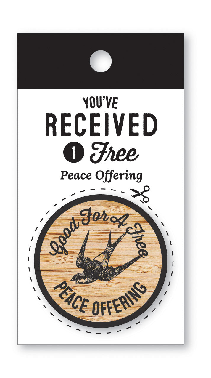 Wooden Nickel | Peace Offering