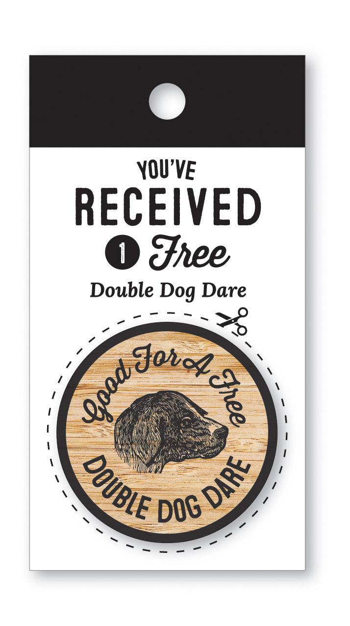 Wooden Nickel | Double Dog Dare