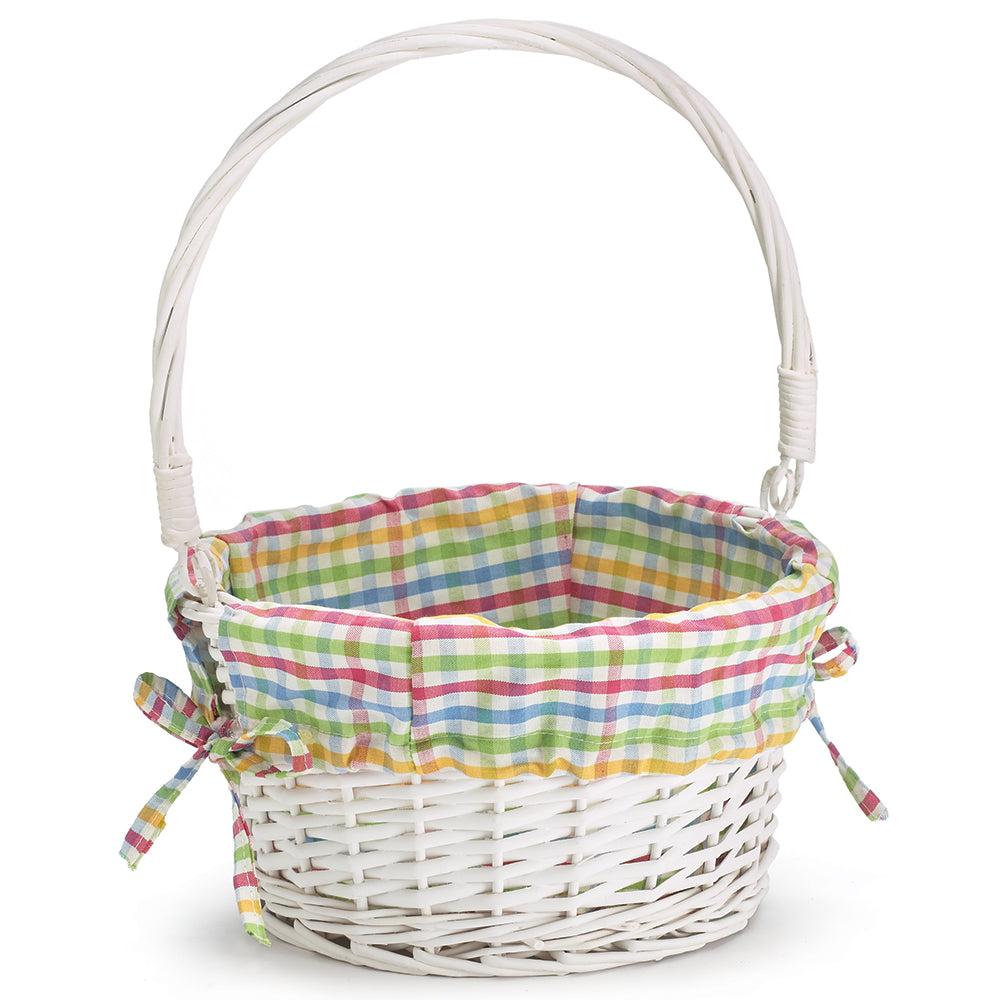 Basket | Willow Plaid