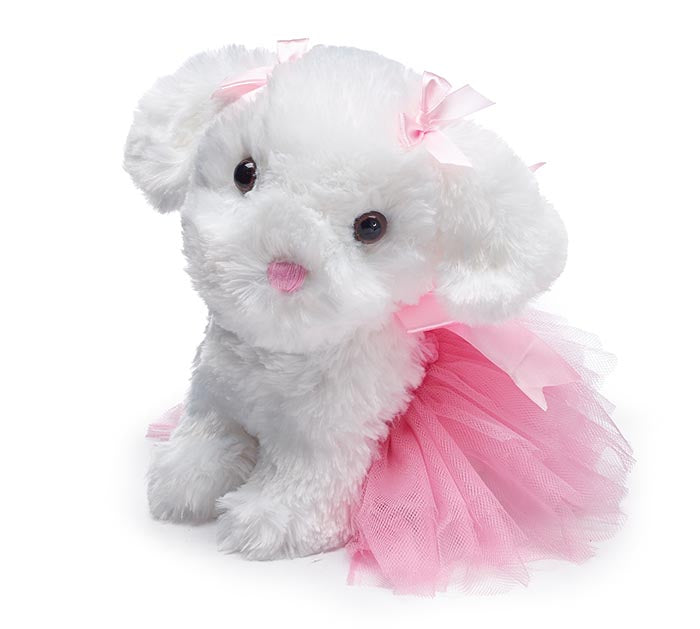 "Plush | 9 1/2"" Ballerina Puppy"