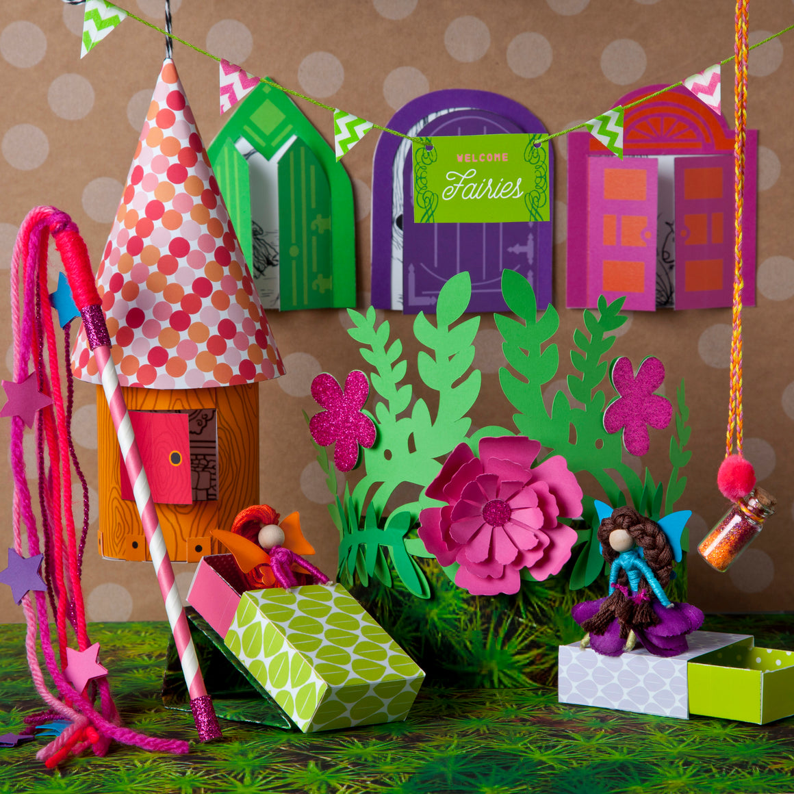 Craft-tastic | I Love Fairies Kit