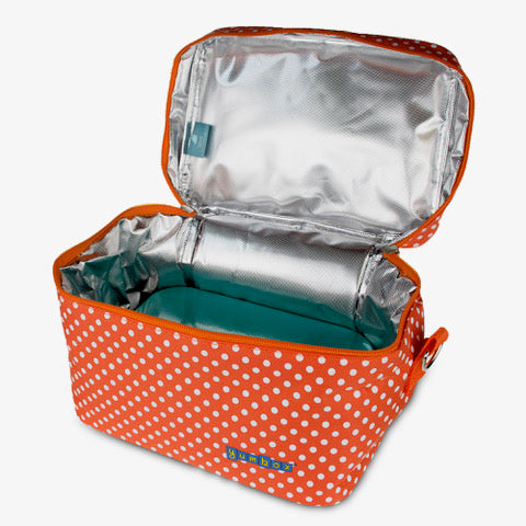 Tango Orange Lunch Bag