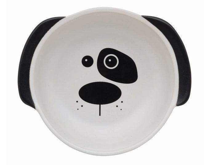 Dog Bowl | Scruffy the Dog White