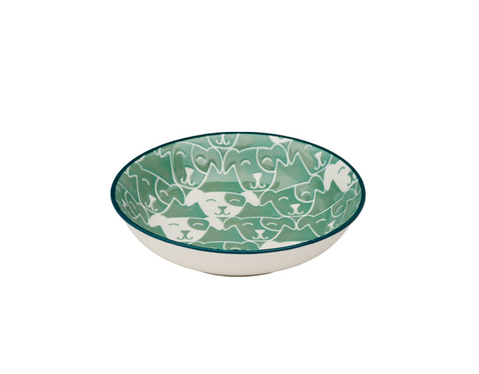Dog Bowl | Mini | Patch in Light Teal