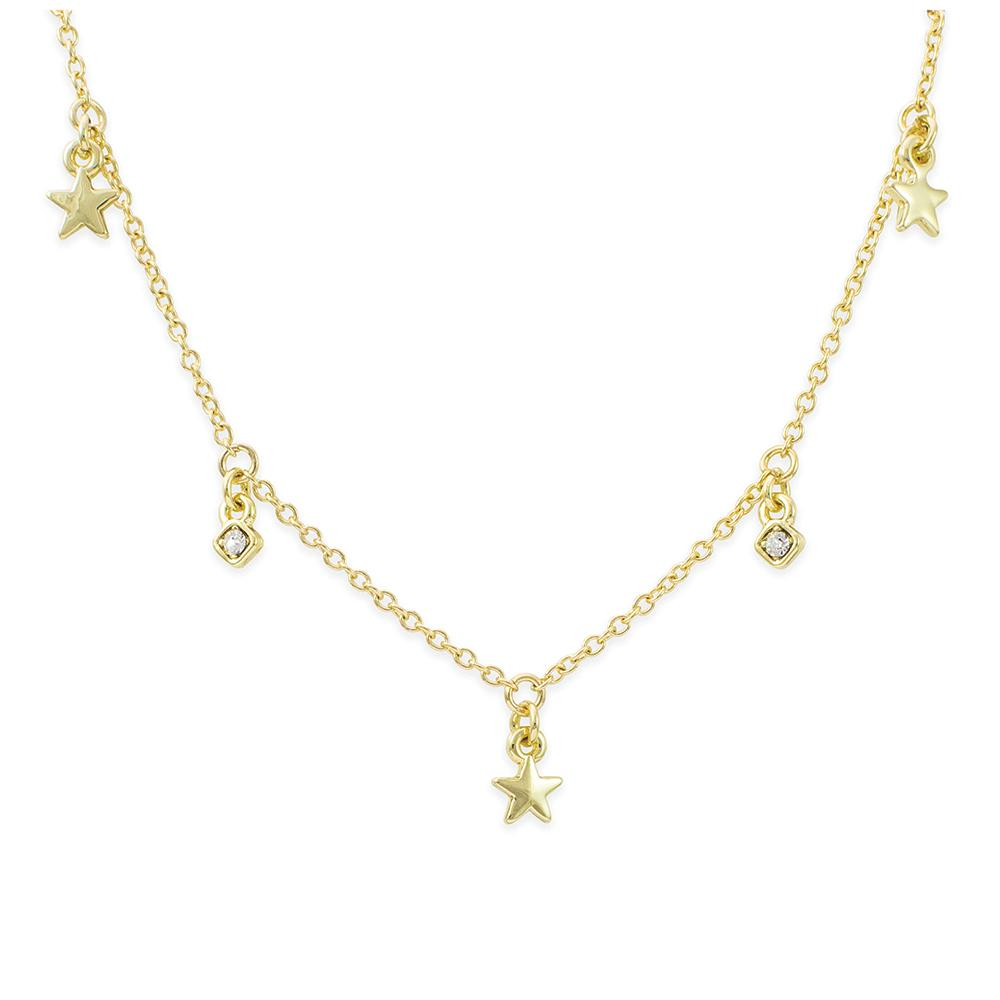Necklace | Dangle Gold | Shine So Bright