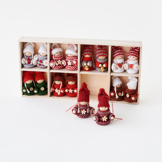 Ornament | Sweater Folk Miniatures | 1.5""