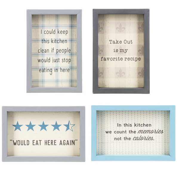 Framed Box Signs