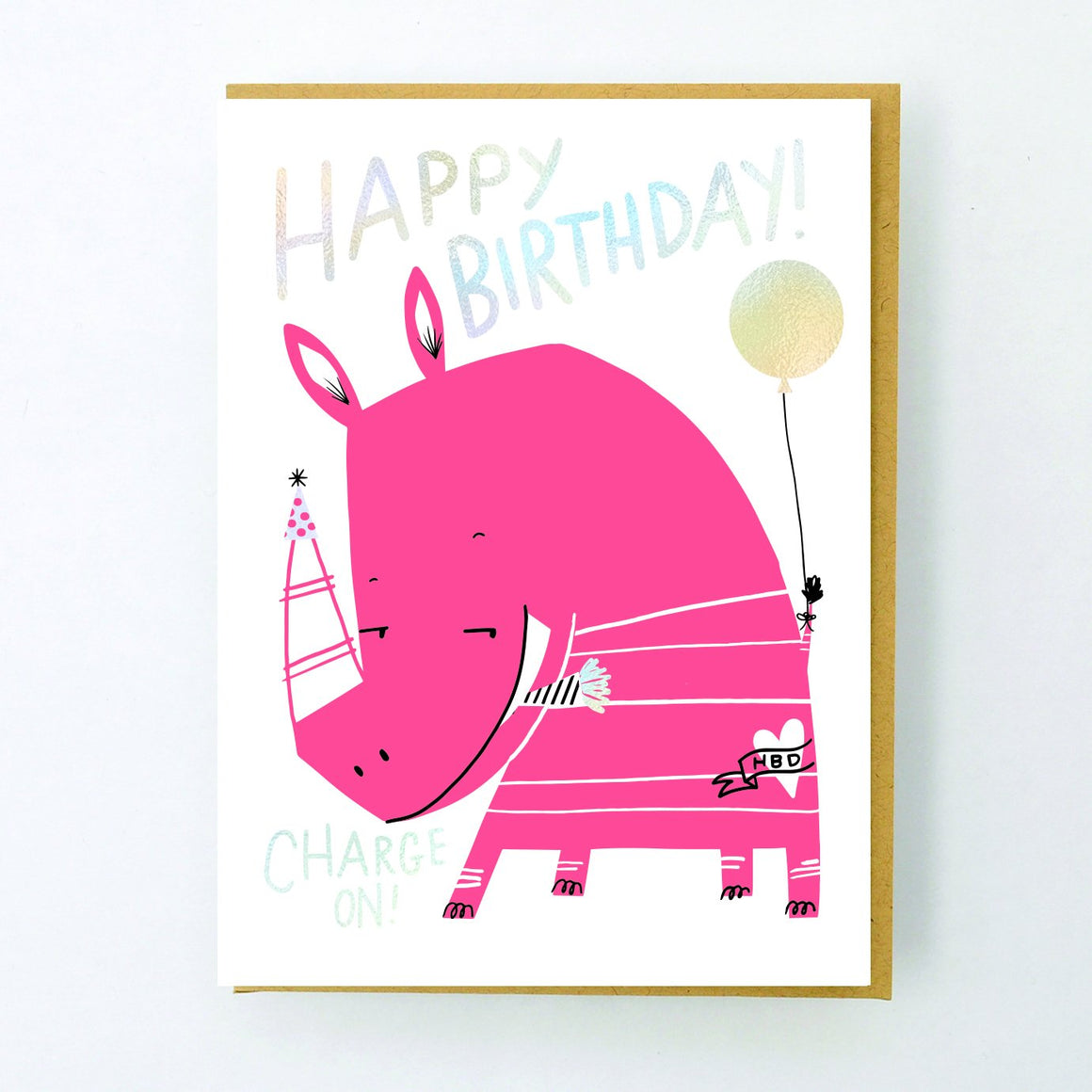 Card | Birthday | Happy Birthday! Charge On!