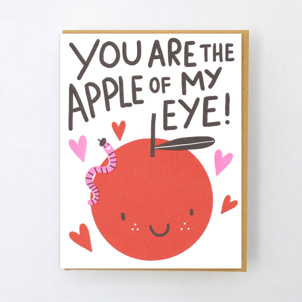 Card | Love | You Are the Apple of My Eye!