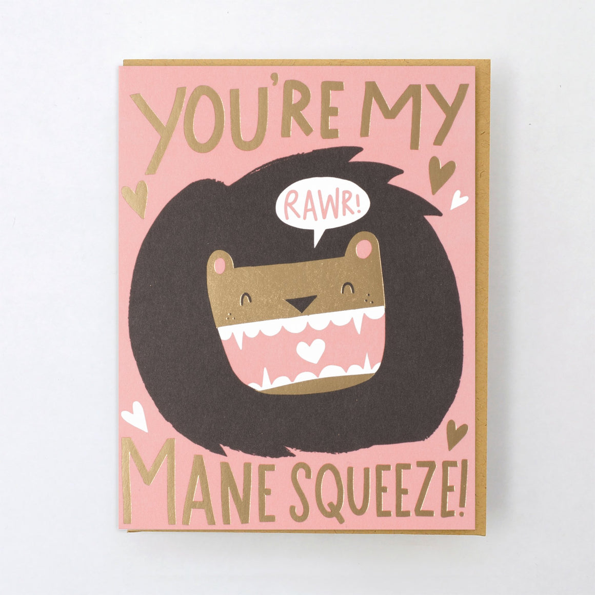 Card | Love | You're My Mane Squeeze!