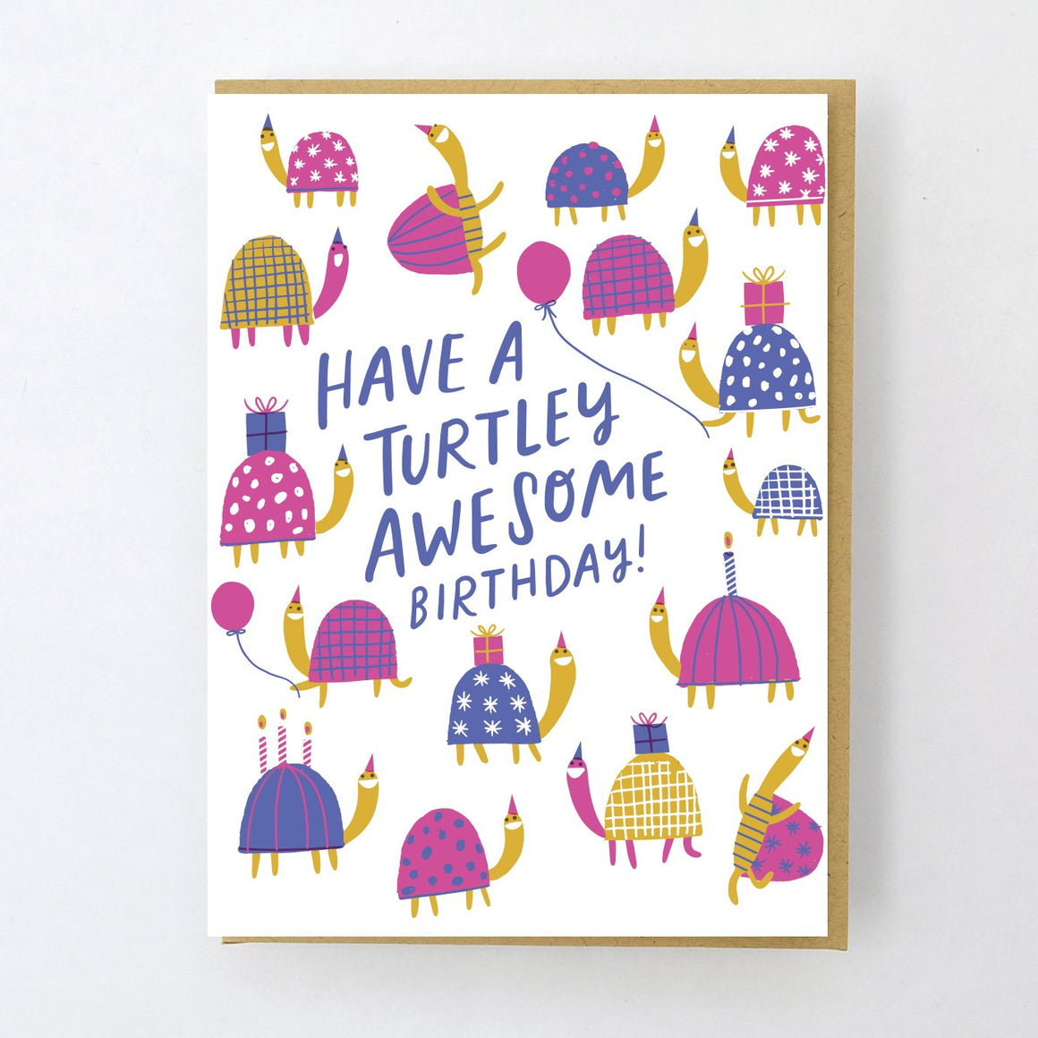 Card | Birthday | Have A Turtley Awesome Birthday