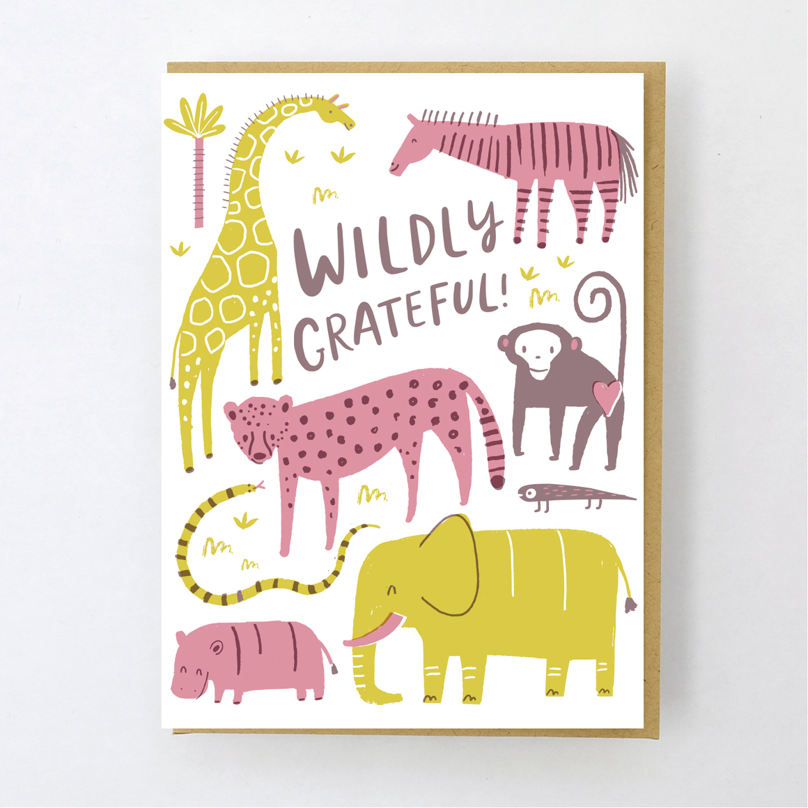 Card | Thank You | Wildly Grateful