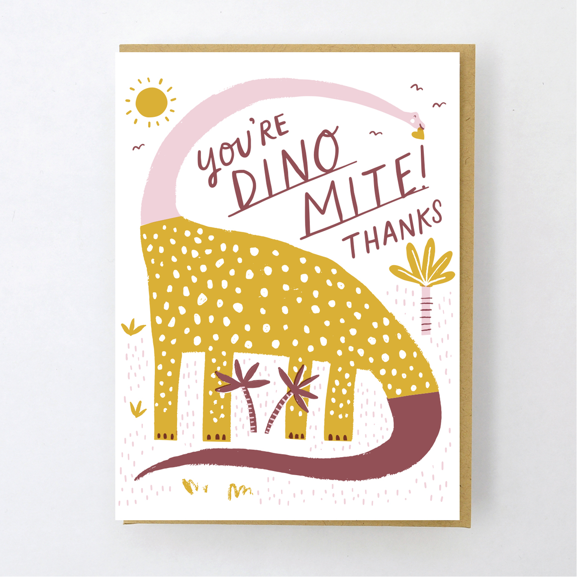 Card | Thank You | You're Dino-Mite! Thanks