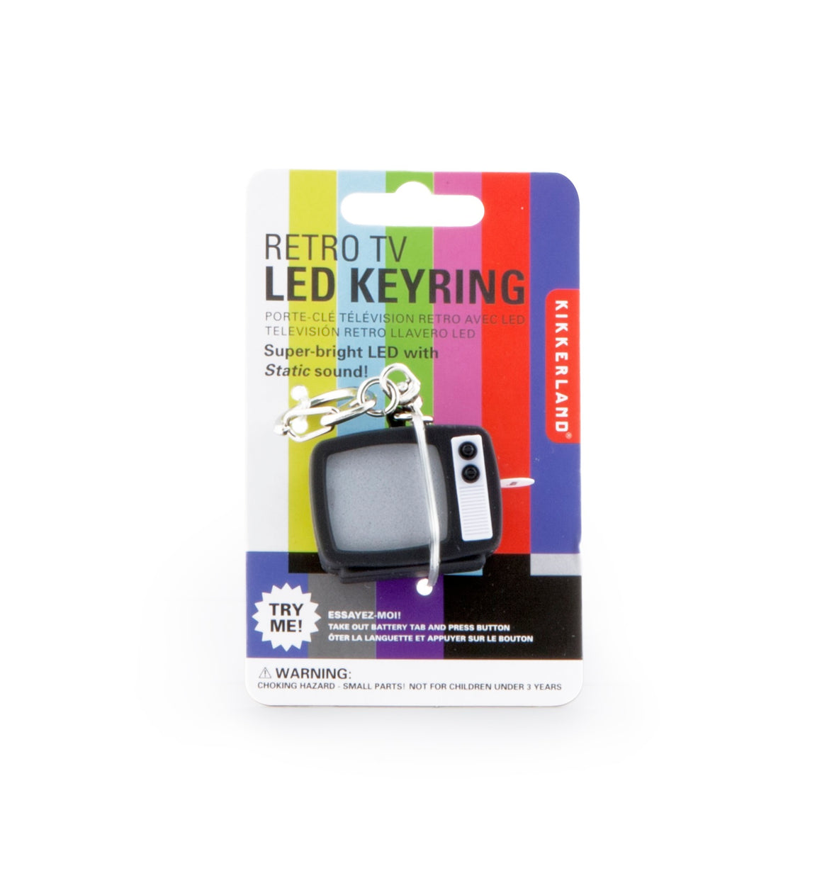 Keychain | TV Static LED