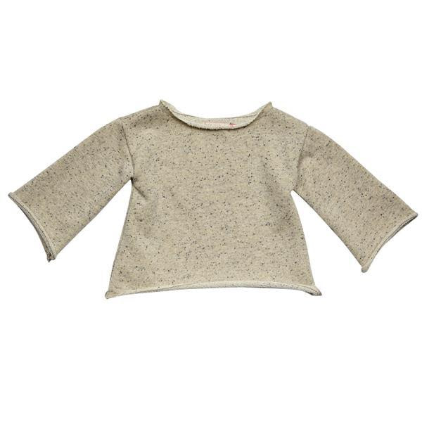 Marled Gold Bell Sleeve Top