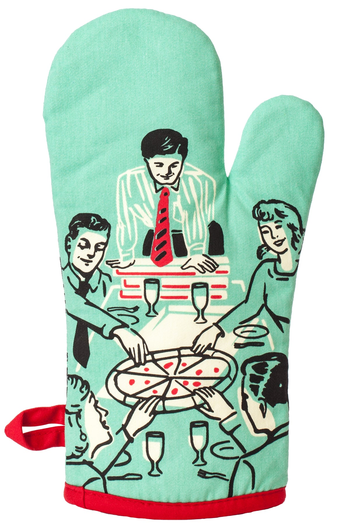 Oven Mitt | Pizza's Here