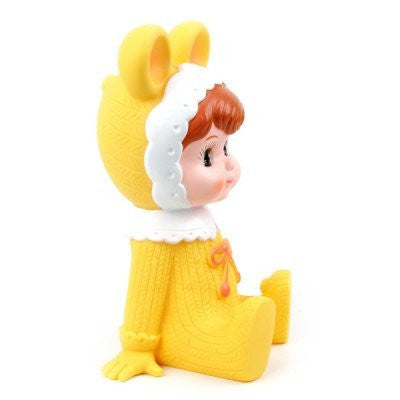 Woodland Doll Money Box | Yellow