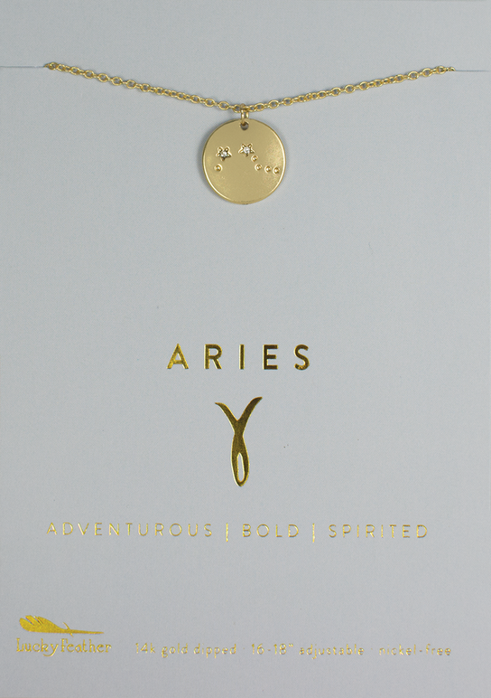 Necklace | Zodiac | Aries