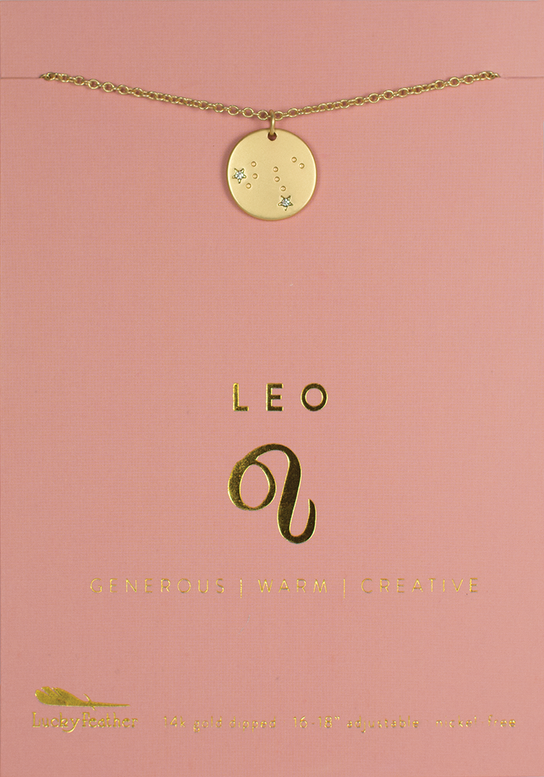 Necklace | Zodiac | Leo